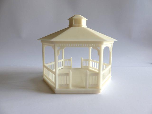 Maquette kiosque – Petite échelle