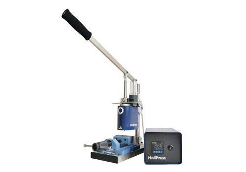 photo de la presse à injection manuelle Holipress