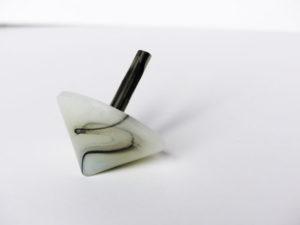 toupie réalisé en injection plastique