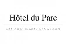 logo hotel du parc à arcachon
